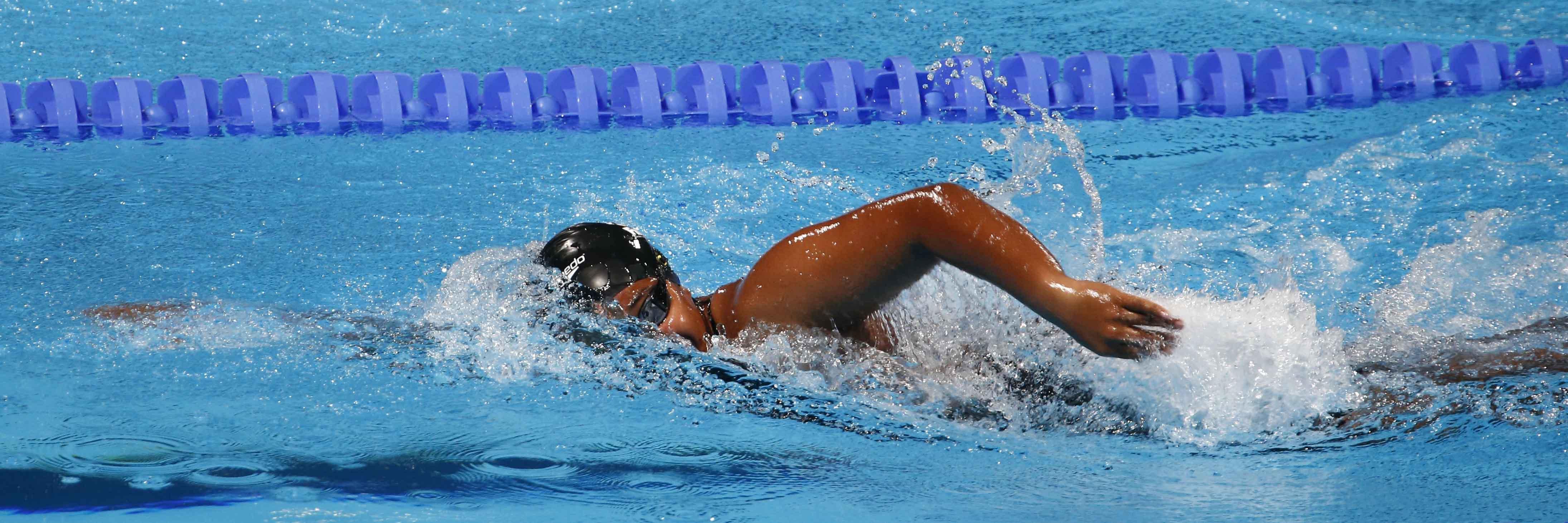 100m Freestyle Tongan Charissa Panuve