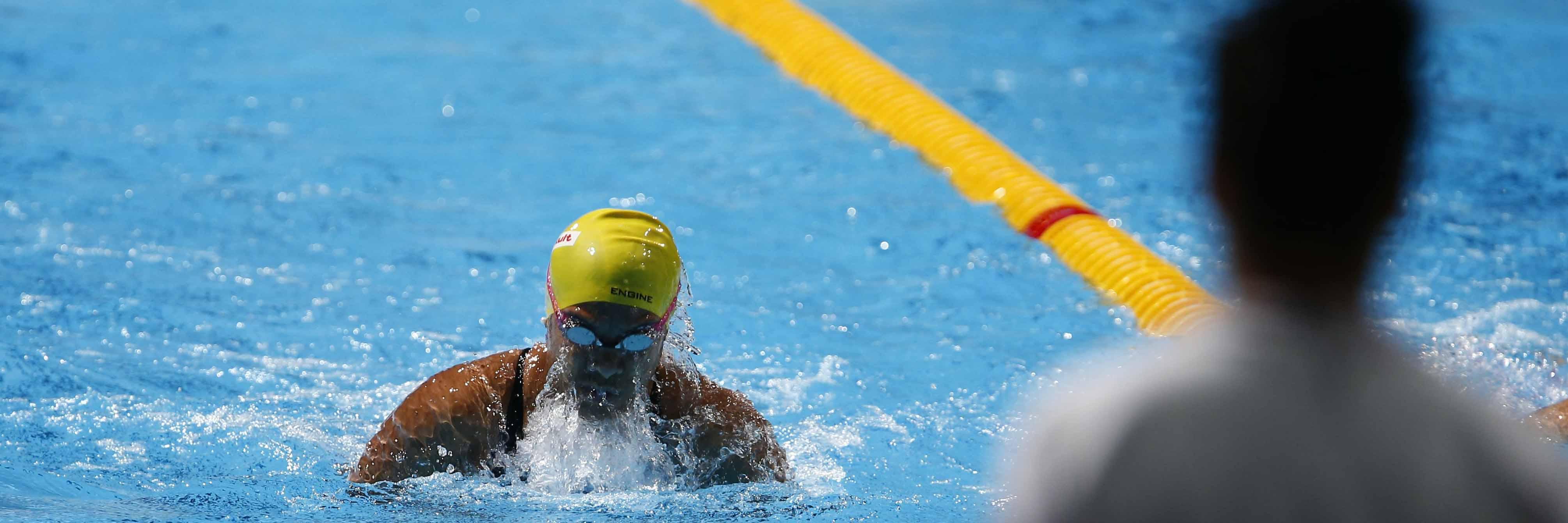 100m Breaststroke Barbara Vali-Skelton